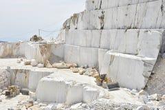 Cava di marmo stock photo