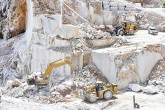 Cava di marmo royalty free stock photo