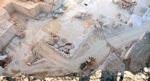 Cava di marmo portoghese vicino a Borba Fotografie Stock Libere da Diritti