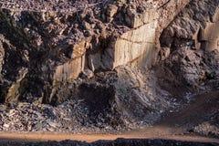 Cava di Porfirio Fotografia Stock