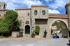 Cava i mexikansk slott Royaltyfri Foto