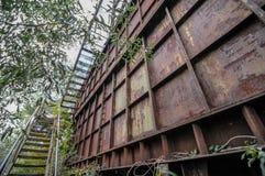 Cava industriale della ghiaia Immagine Stock Libera da Diritti