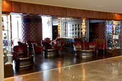 Cava 15 nell'hotel Panamá del club dell'oceano di Trump Fotografie Stock