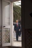 Cavaco Silva, président du Portugal Photographie stock
