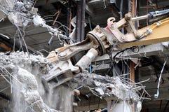 Cavador de la demolición Fotos de archivo