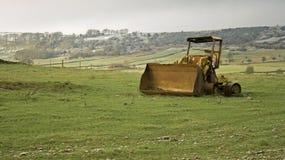 Cavador resistido en las colinas Fotos de archivo