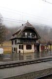 Cavaglia火车站 免版税图库摄影