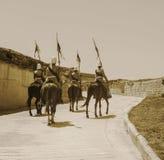 Cavalaria britânica na era vitoriano foto de stock royalty free