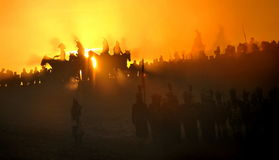 Cavalaria do fantasma Foto de Stock Royalty Free