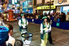 Cavalcade du défilé de Rois mages Photo libre de droits