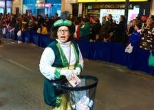 Cavalcade du défilé de Rois mages Image libre de droits