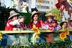 Cavalcade espanhol do Natal Fotografia de Stock