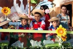 Cavalcade espanhol do Natal Fotografia de Stock Royalty Free