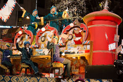 Cavalcade of Three Kings Stock Image