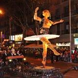 Cavalcade van Magi in Barcelona, Spanje Royalty-vrije Stock Foto's
