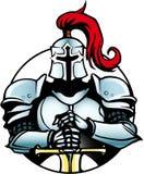 Cavaleiro azul 1 ilustração do vetor