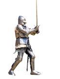 Cavaleiro blindado Fotografia de Stock