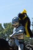 Cavaleiro blindado Fotos de Stock