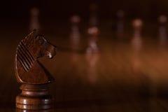 Cavaleiro Chess Fotografia de Stock