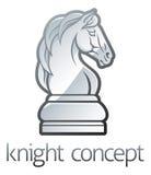 Cavaleiro Chess Piece Concept ilustração royalty free