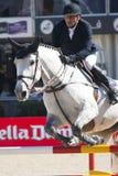 cavaleiro CSIO Barcelona Fotos de Stock Royalty Free