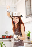 Cavaleiro da cozinha imagens de stock royalty free