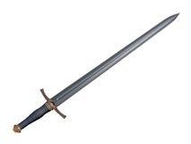 Cavaleiro da espada Foto de Stock Royalty Free