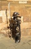 Cavaleiro da fantasia na banda desenhada de Lucca e nos jogos 2014 Fotos de Stock