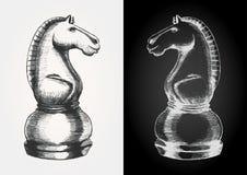 Cavaleiro da xadrez ilustração stock