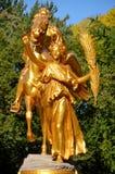 Cavaleiro de bronze Fotografia de Stock Royalty Free