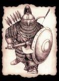 Cavaleiro do apocalipse Fotografia de Stock