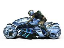 Cavaleiro do Cyborg Imagens de Stock Royalty Free