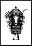 Cavaleiro do Mongolian Imagens de Stock