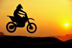 Cavaleiro do motocross Foto de Stock Royalty Free
