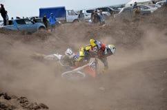 Cavaleiro do motocross do ruído elétrico Foto de Stock