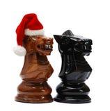 Cavaleiro do Natal Foto de Stock Royalty Free