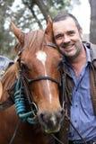 Cavaleiro e cavalo imagens de stock royalty free