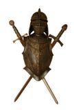 Cavaleiro e espadas Imagens de Stock