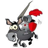 Cavaleiro engraçado dos desenhos animados Imagens de Stock Royalty Free