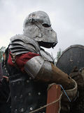Cavaleiro escuro Fotos de Stock