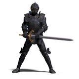 Cavaleiro escuro Foto de Stock