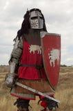 Cavaleiro europeu medieval Fotos de Stock Royalty Free