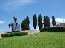 Cavaleiro Francis, Assisi, Italy Foto de Stock Royalty Free