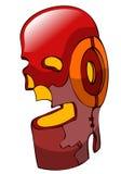 Cavaleiro Helmet do metal Imagem de Stock