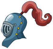 Cavaleiro Helmet, ilustração do vetor Imagens de Stock