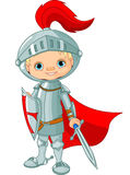 Cavaleiro medieval Fotos de Stock Royalty Free