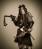 Cavaleiro na armadura completa foto de stock royalty free