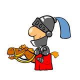 Cavaleiro no cavalo Imagens de Stock