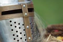 Cavaleiro preto fotografia de stock royalty free