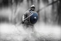 Cavaleiro - Viking Fotografia de Stock Royalty Free